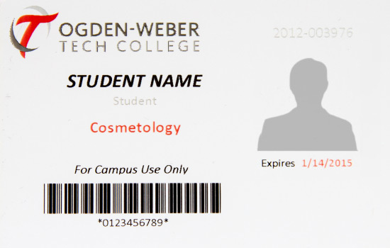 Student Id Cards Ogden Weber Technical College